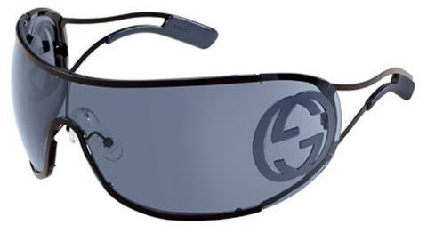 dc2ab42f20883 Image Unavailable. Image not available for. Colour  Gucci Wraparound  Sunglasses 2799 S 0006 96 99  Shiny Black
