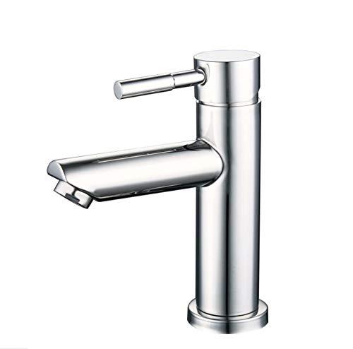 JONTON Wasserhahn Wasserhahn Wasserhahn, 304 Edelstahl Spiegel licht Becken heiß und kalt Spiegel Oberfläche licht unter aufsatzbecken waschbecken waschbecken