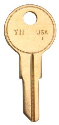 - Y11 Yale Key Blank 50-Pk Kaba Ilco Lock Repair Y11 Taylor 076335843605