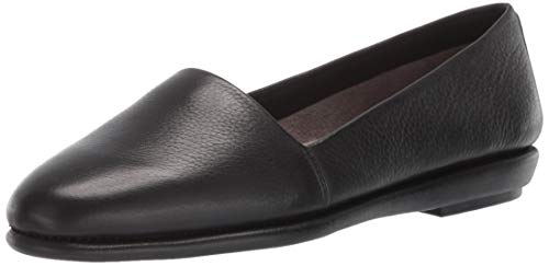 Aerosoles Women's MS Softee Moccasin, Black Soft, 7.5 M US