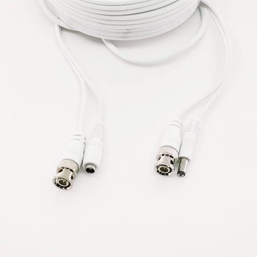 5516 5032 High Quality 180ft White Premium Surveillace Thick Extension Cables for 8 CH Q-SEE SYSTEMS QT-5140 578