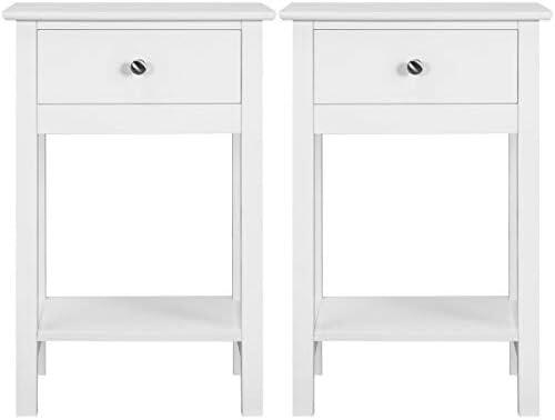YAHEETECH Nightstands Bedside Table Cabinet