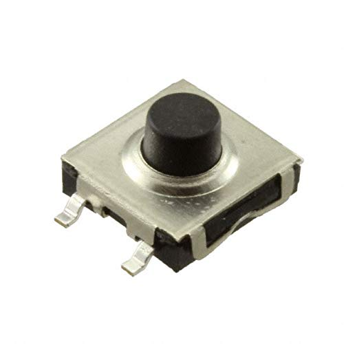 SWITCH TACTILE SPST-NO 0.05A 24V (Pack of 100) (FSM2JSSMTR) by TE Connectivity ALCOSWITCH Switches