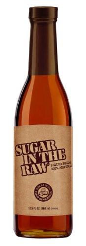 Sugar In The Raw Liquid Turbinado Cane Sugar, 12.5-Ounce Glass Bottle