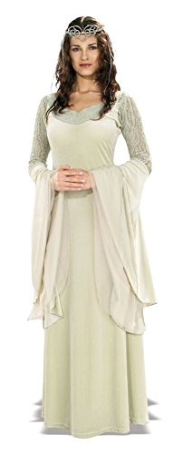 Deluxe Queen Arwen Costume - Standard - Dress Size (Queen Arwen)
