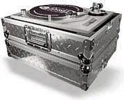Odyssey FTTDIA Flight Zone Ata Diamond Plated Dj Turntable Case