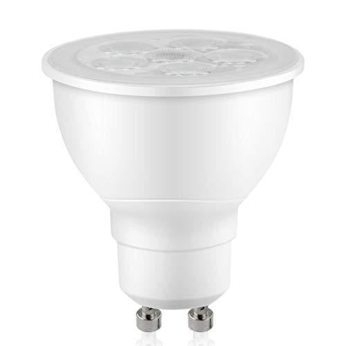 75w Gu10 Track - Gu10 Mr16 Led Bulbs 2700k Warm White Dimmable 550Lumen Spotlight - 7.5w 75w Equivalent - 120v Ul-Listed