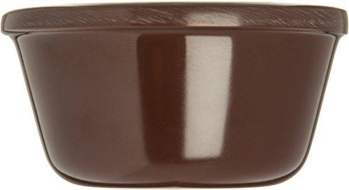 Carlisle (S28069) Ramekins, Set of 48 (3-Ounce, Melamine, Chocolate) by Carlisle (Image #2)