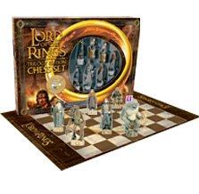 The Lord Of The Rings Trilogy Edition Chess Set