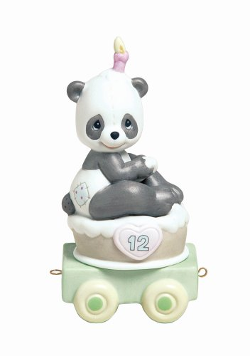 Precious Moments Birthday Train Give A Grin And Let The Fun Begin Figurine