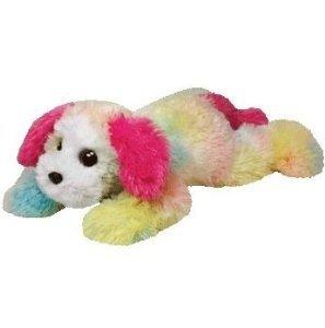 Ty Classic Yodel Rainbow Dog X-Large Plush