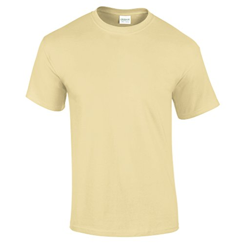 Gildan Ultra Herren T-Shirt (Small) (Cornsilk) S,Cornsilk