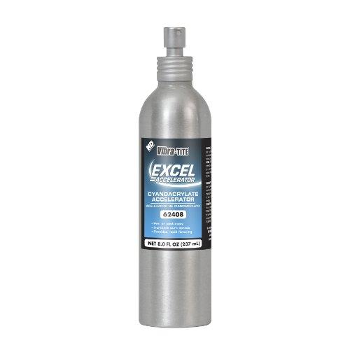 Vibra-TITE 624 Excel Impact resistant Accelerator, 8 oz Bottle, Clear/Amber by Vibra-TITE