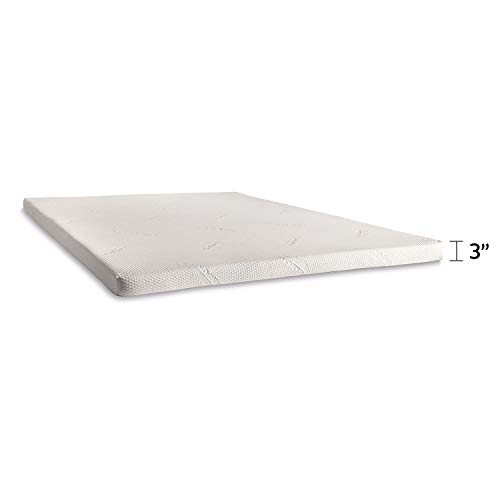 Tempur-Pedic TEMPUR Supreme 3-Inch Premium Foam Mattress Topper, Adaptable Personalized Comfort, Pressure Relieving Assembled in the USA, 25 Year Warranty King