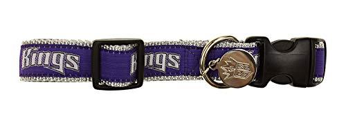 Sporty K9 NBA Dog Collar, Sacramento Kings ()