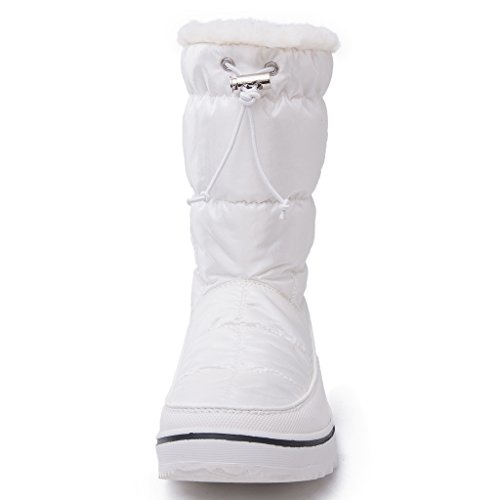 Global Win Globalwins Globalwins Womens Adeline Winter Snow Boots White