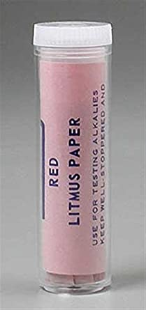 perfect company litmus test paper red ph test strips amazon com