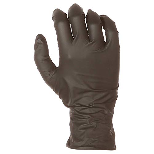 AmazonBasics Powder Free Disposable Nitrile Gloves, 6 mil, Black, Size XXL, 90 per Pack, 10-Pack by AmazonBasics (Image #4)