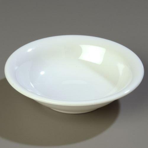 - Carlisle (43032) - 16 oz Rimmed Bowls - Durus Collection-White by Carlisle