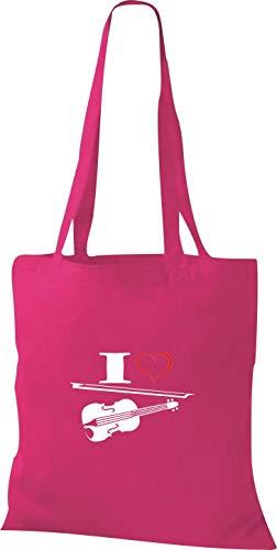 Mujer Rosa Shirtstown Tela Fucsia Bolso Para Algodón De HzvqOw
