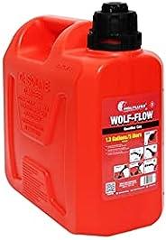 Galão de Abastecimento Combustível WOLF-FLOW 5 Litros