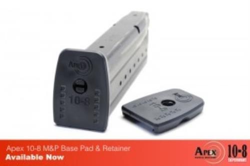 APEX Tact 10-8 Base Pad & Ratner 4Pk Gun Stock - Apex S