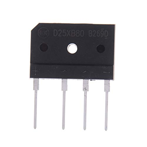 To220-1 Pc D25xb80 25a 800v Cooker Rectifier Bridge - Tda7294 Power Lm1875 230v Gbj2510 Delivery Rail Bench Charger Tree Household Sink Voltage Dimmer Tester Heat 5v3a Module 800v Lm3886 ()