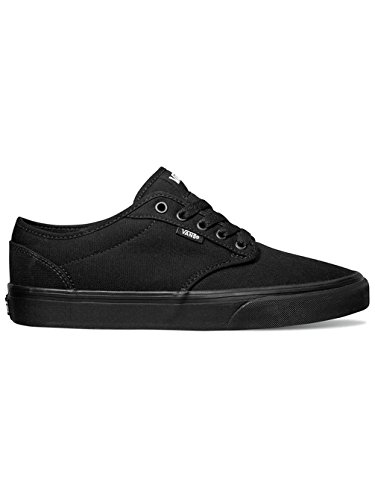 Vans Men's ATWOOD (CANVAS) SKATE SHOES 11 Men US (BLACK/BLACK) by Vans