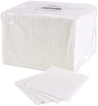 Disposable Paper Napkin 6X6 Inches 250PCS/Bag for Lunch Dinner Meal Table Kitchen