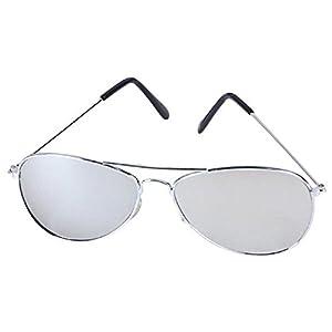 Dark Aviator Sunglasses-Mirror