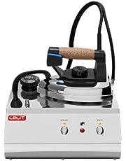 Lelit PS25 ångstrykningsstation, rostfritt stål, 2,5 liter, svart/silver