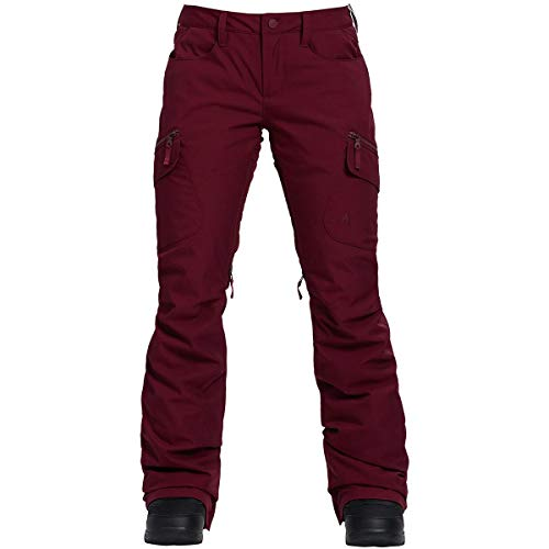 (Burton Women's Gloria Pant Insulated Snowboarding Pant, Port Royal, Small)