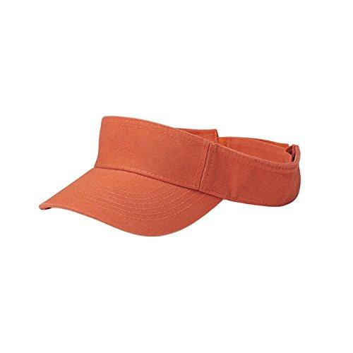 MG Unisex Pro Style Cotton Twill Washed - Visor Twill