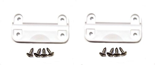 NEW AFTERMARKET Igloo Cooler Plastic Hinges + Stainless Screws (2)