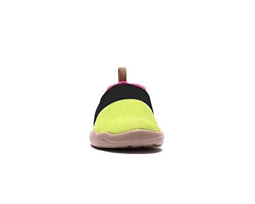 Uin Chaussure Slip Bejer Confort Tricot Vert Des Femmes De on Et Rose wwRdrTq