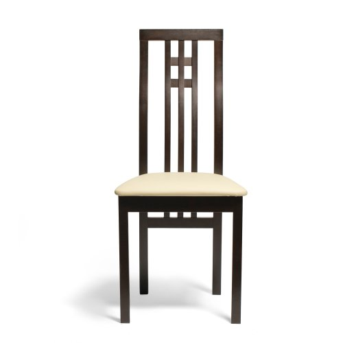AEON District (Set of 2 )Solid Beechwood Dining Chairs, Coffee (Beechwood Dining Chair)