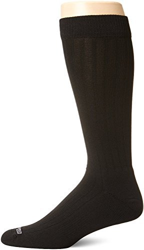 DryMax Dress Over Calf, Black, W10-12 / M8.5-10.5, 2 Pack by Drymax