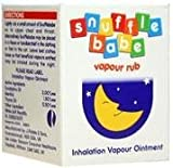 Snufflebabe Vapour Rub, 24 g