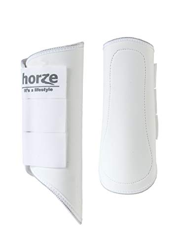 Horze Pile-Lined Boots White L
