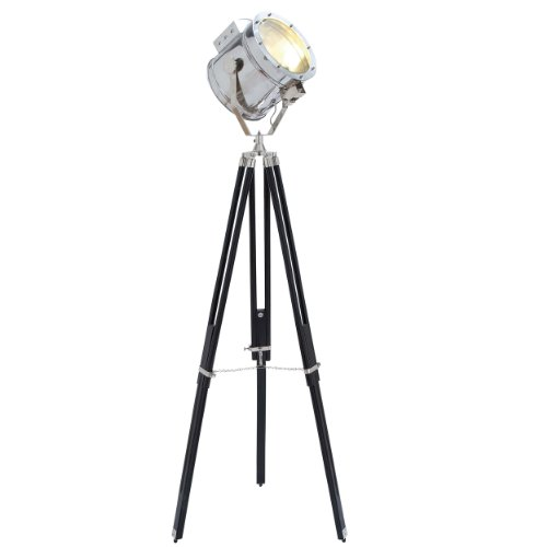 Urban Designs Movie Studios Floor Prop Spotlight with Tripod Lamp by Urban Designs