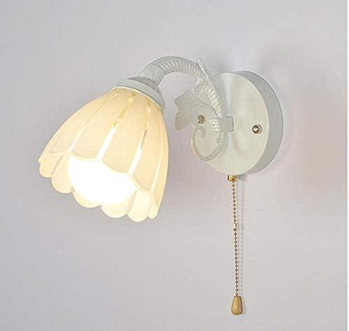 LOERGSE Miroir lumière Frontale tournante Porte Lampe Salon