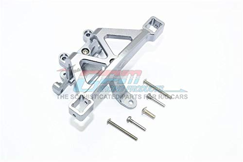Traxxas E-Revo 2.0 VXL Brushless (86086-4) Upgrade Parts Aluminum Front Body Mount - 1 Set Gray Silver