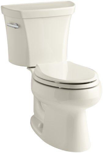 Kohler K-3998-47 Wellworth Elongated 1.28 gpf Toilet, -