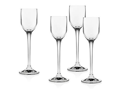 Godinger Pivot Liquor Shot Glasses - Set of 4 – 2 OZ