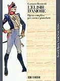 Hal Leonard Donizetti L'elisir d'amore (Vocal Score)