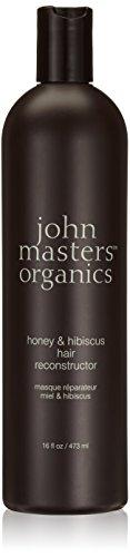 John Masters Organics Honey & Hibiscus Hair Reconstructor Treatment For Unisex 16 oz (Organics Masters John Honey)