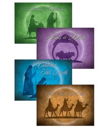 Celebrate His Birth - Boxed Greeting Cards - Christmas - KJV Scripture