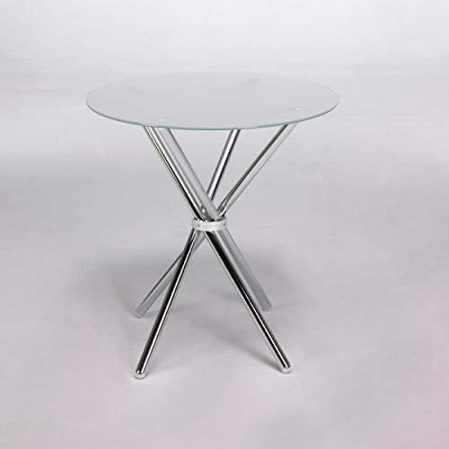 Mikado Table ronde en verre 80 cm by Closet