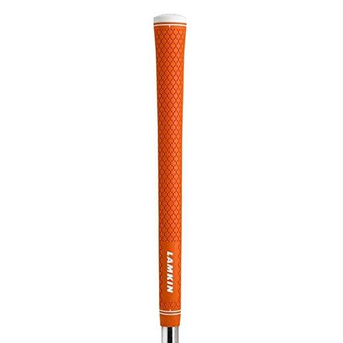 Lamkin R.E.L. Ace 3GEN Midsize (+1/16 Inch ) Orange 13 Piece Golf Grip Bundle ( by Lamkin
