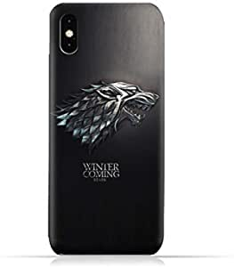 Iphone Xs Max TPU Protective Case with Winter is Coming - Game of Thrones Design